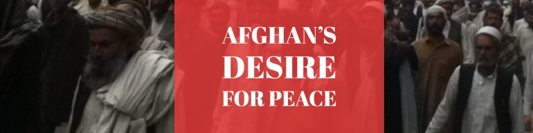 afghanistan peace process